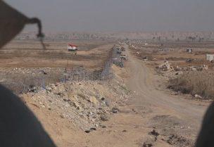 الحدود السورية العراقية -أرشيفية