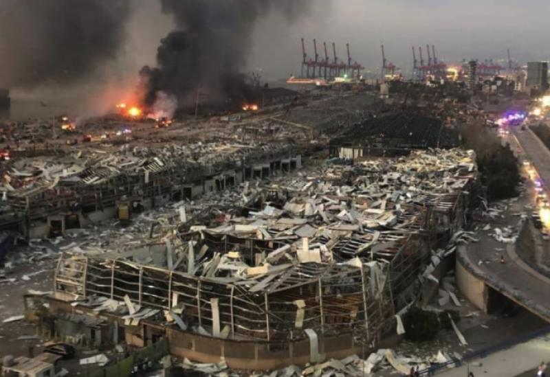 انفجار بيروت أشبه بتفجير مدينة هيروشيما اليابانية