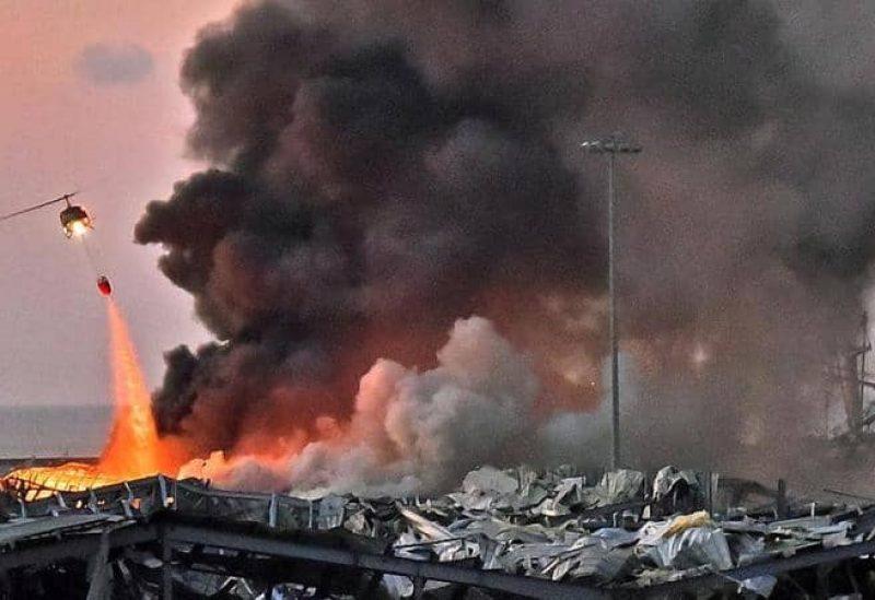 عقب انفجار بيروت