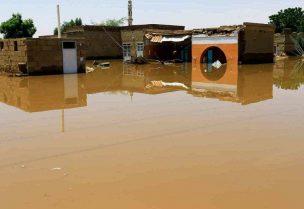 انهيار سد في السودان