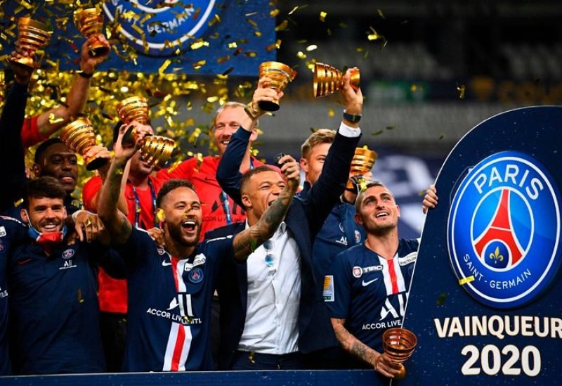 باريس سان جيرمان يتوج بكأس الرابطة الفرنسية