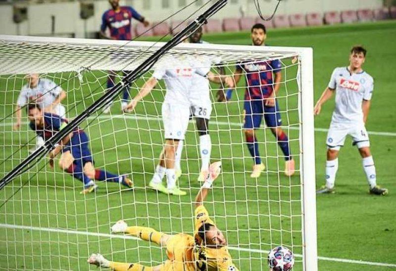 برشلونة يتأهل للدور المقبل من دوري أبطال أوروبا