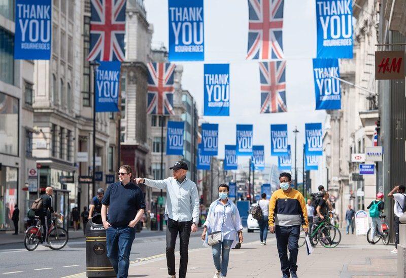 بريطانيا من الدول التي سجلت أرقام مرتفعة بفيروس كورونا