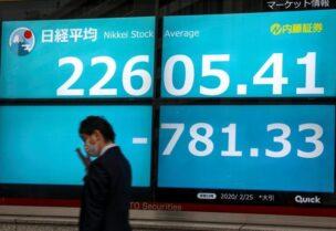 تراجع الاقتصاد الياباني بسبب كورونا