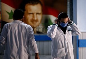 تفشي كورونا في سوريا