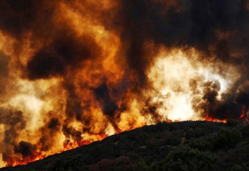 حريق بغابات كاليفورنيا-أرشيفية