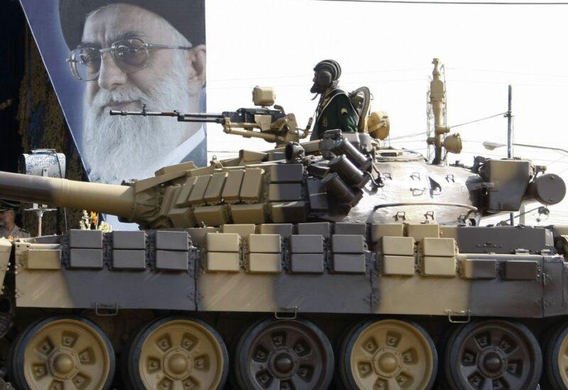 دبابة إيرانية - أرشيفية