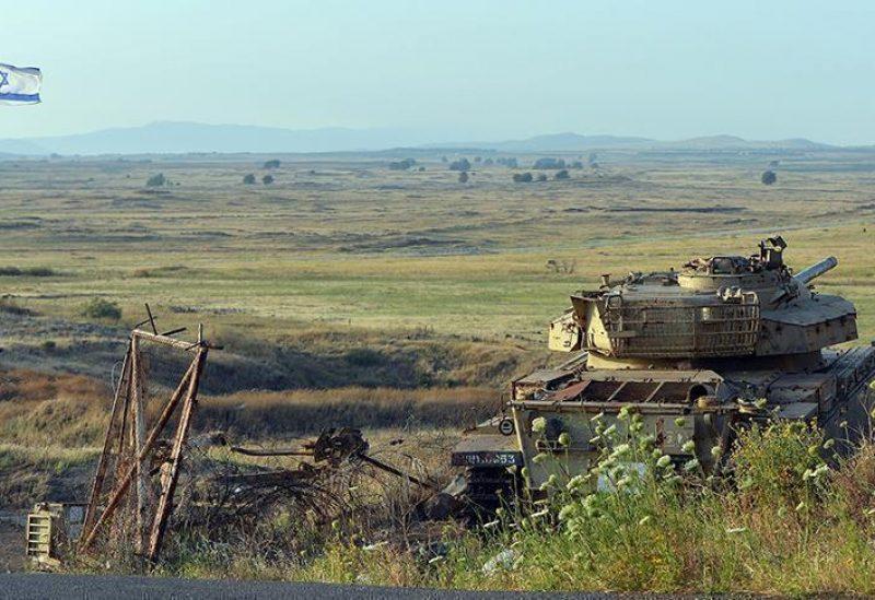 دبابة تابعة للجيش الاسرائيلي - أرشيفية