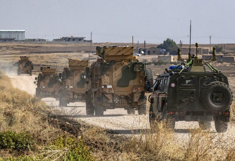 دورية روسية تركية بسوريا - أرشيفية