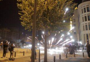 مواجهات وسط بيروت