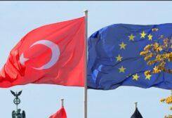 علمي الاتحاد الأوروبي وتركيا