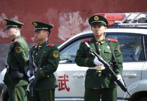 عناصر من الشرطة الصينية - أرشيفية