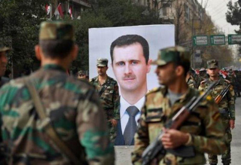 عناصر من المخابرات النظام السوري - أرشيفية