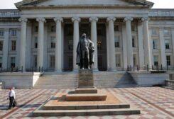 مبنى وزارة الخزانة الأمريكية في واشنطن - أرشيفية