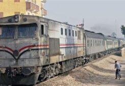 قطار في مصر (أرشيفية)