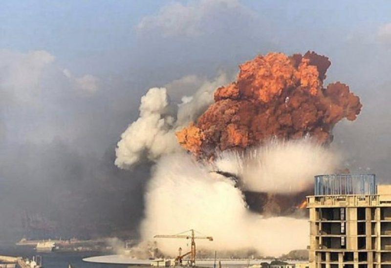 إنفجار مرفأ بيروت