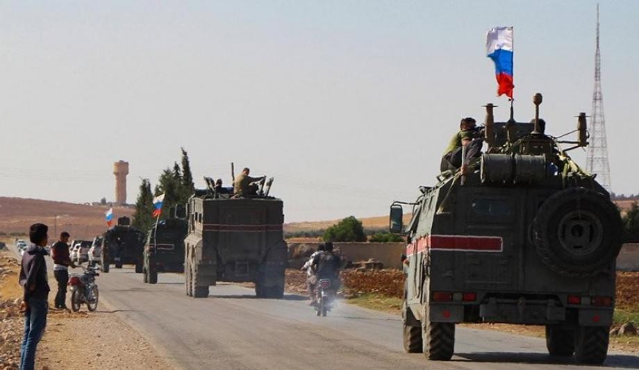 دوريات روسية في الشمال السوري
