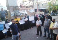 اعتصام في عين الحلوة للمطالبة بالافراج عن السجناء الفلسطينيين