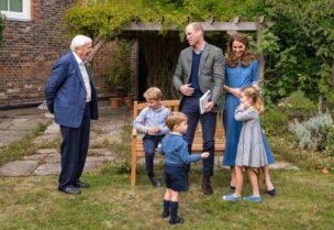 الأمير جوروج وعائلته