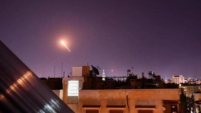 الدفاعات السورية تتصدى لهجمات إسرائيلية-أرشيفية