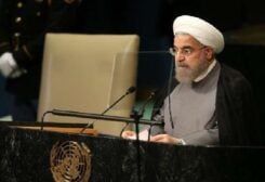 خطاب الرئيس روحاني في الامم المتحدة
