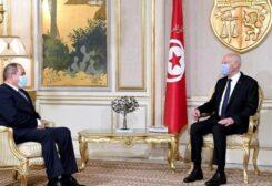 الرئيس التونسي لوزير الخارجية الجزائري بقصر قرطاج