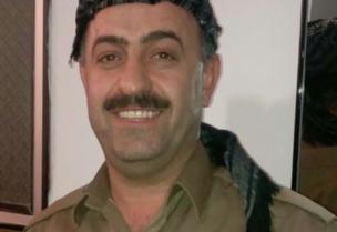 السجين الكردي لدى إيران حيدر قرباني