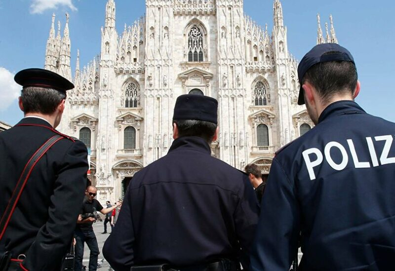 الشرطة الإيطالية