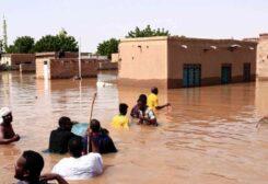 الفيضانات أغرقت قرى بأكملها في السودان