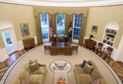 المكتب البيضاوي الخاص بالرئيس الأمريكي