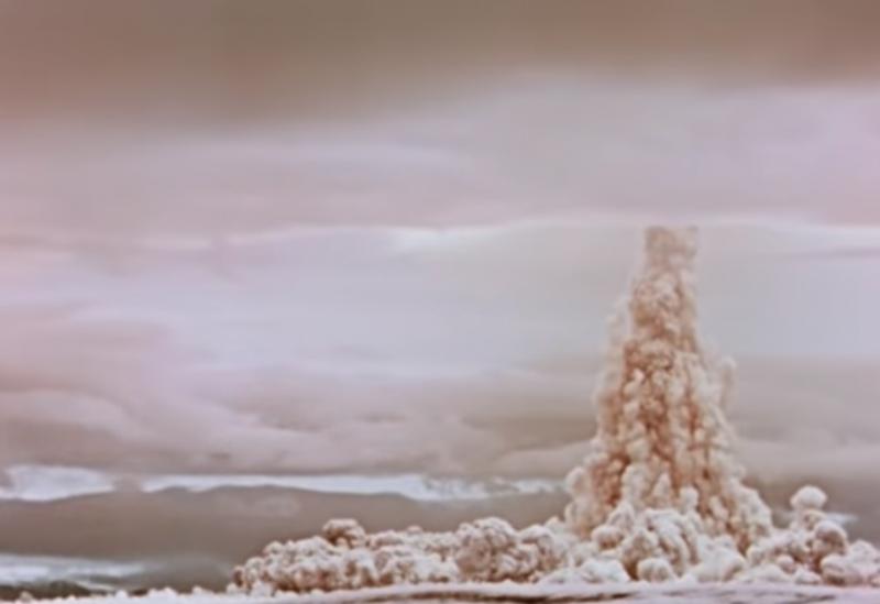 روسيا تنشر فيديو لأقوى انفجارر نووي في التاريخ