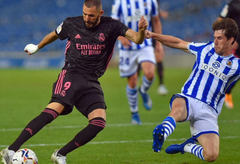 ريال مدريد يتعادل سلبيا مع سوسيداد
