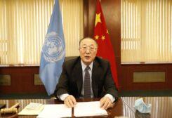سفير الصين بالأمم المتحدة تشانغ جون