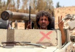 عنصر من المرتزقة السوريين التابعين لتركيا