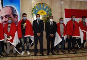 عودة العمال المصريين المختطفين في ليبيا