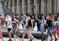 فرنسا تسجل أرقام مرتفعة بكورونا