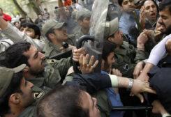 قمع التظاهرات في ايران