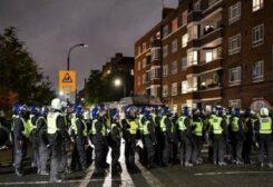 مظاهرة ضد قيود كورونا في لندن- أرشيفية
