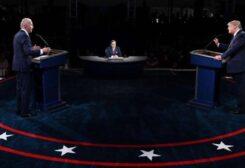 مناظرة حامية بين ترامب وبايدن