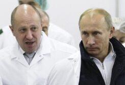 يفغيني بريغوجين وفلاديمير بوتين