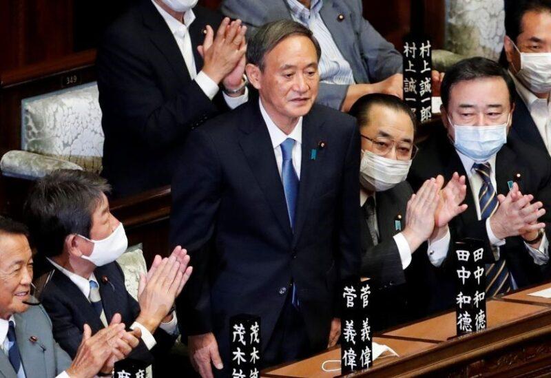 يوشيهيدي سوغا رئيسا للوزراء في اليابان