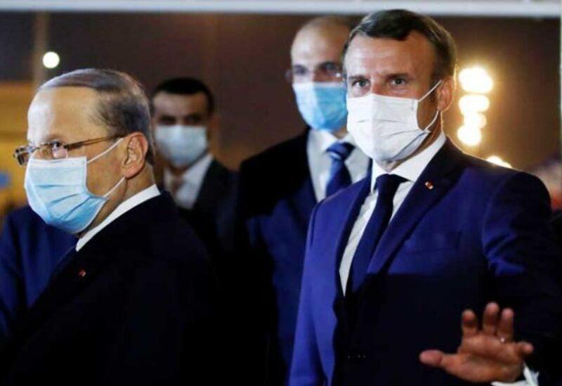 الرئيس ماكرون والرئيس عون