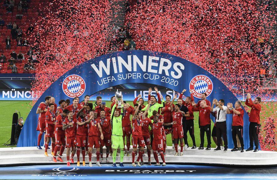بايرن ميونيخ يتوج بلقب كأس السوبر الأوروبية