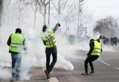 العفو الدولية تدين القمع «الوحشي» للمتظاهرين في فرنسا