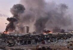 أضرار انفجار المرفأ
