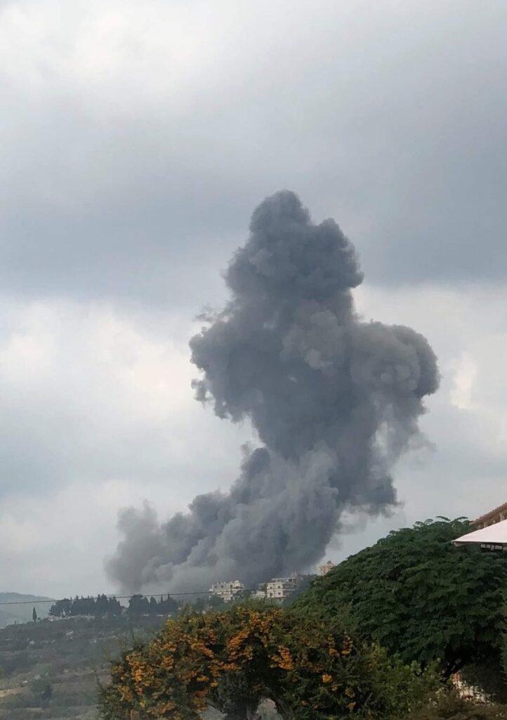 انفجار في قانا