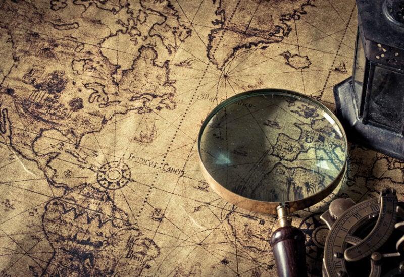 خرائط تاريخية