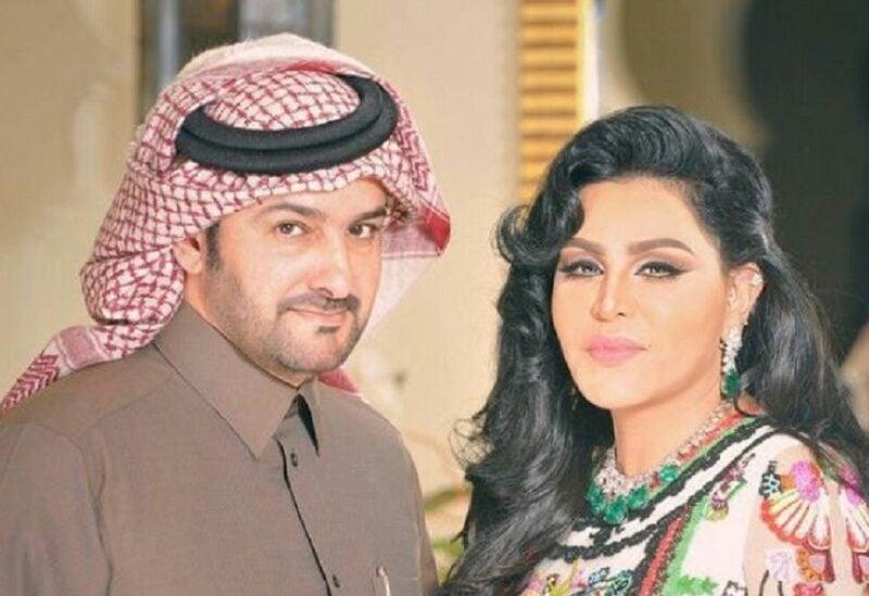 أحلام الشامسي وزوجها مبارك الهاجري