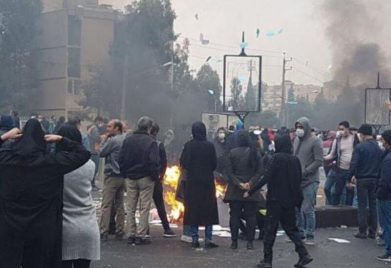 أرشيفية لاحتجاجات نوفمبر في إيران