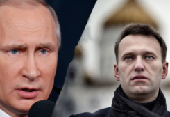 أليكسي نافالني وفلاديمير بوتين